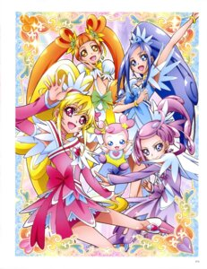 Rating: Questionable Score: 3 Tags: bike_shorts dokidoki!_precure dress heels pretty_cure thighhighs User: drop
