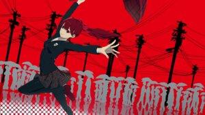 Rating: Safe Score: 18 Tags: kumamoto_nomii-kun pantyhose persona_5 seifuku silhouette umbrella yoshizawa_kasumi User: Dreista