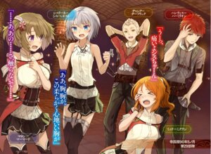 Rating: Safe Score: 35 Tags: breast_hold cysline_cilbelst irregular's_rebellion maron_marmerd ochau stockings thighhighs uniform User: Radioactive
