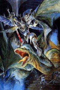 Rating: Safe Score: 10 Tags: aura_battler_dunbine dunbine mecha monster sword User: IronFolgore