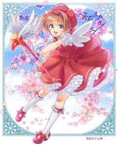 Rating: Safe Score: 18 Tags: card_captor_sakura dress heels kinomoto_sakura signed weapon wings zenyu User: Mr_GT