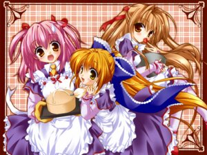 Rating: Safe Score: 8 Tags: lefeuille maid millet minase_lin sorairo_no_organ User: Radioactive