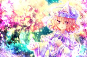 Rating: Safe Score: 25 Tags: japanese_clothes riichu saigyouji_yuyuko touhou User: charunetra
