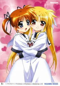 Rating: Safe Score: 38 Tags: calendar fate_testarossa mahou_shoujo_lyrical_nanoha mahou_shoujo_lyrical_nanoha_the_movie_1st okuda_yasuhiro seifuku takamachi_nanoha User: SubaruSumeragi