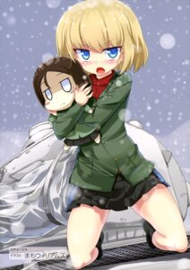 Rating: Safe Score: 18 Tags: chibi girls_und_panzer katyusha mamo_williams nonna User: drop