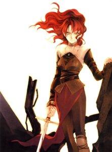 Rating: Safe Score: 7 Tags: blood shiina_yuu sword User: noirblack