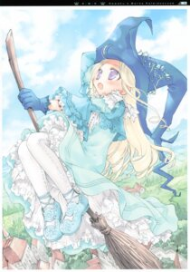 Rating: Safe Score: 15 Tags: aquarian_age kawaku witch User: midzki
