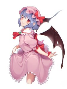 Rating: Questionable Score: 8 Tags: goback remilia_scarlet skirt_lift touhou wings User: Dreista