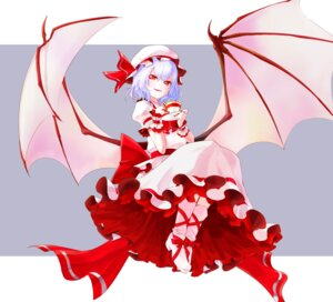 Rating: Safe Score: 31 Tags: dress mappe_(artist) remilia_scarlet touhou wings User: Mr_GT