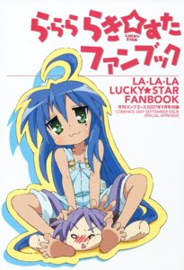 Rating: Safe Score: 6 Tags: izumi_konata lucky_star overalls User: vita