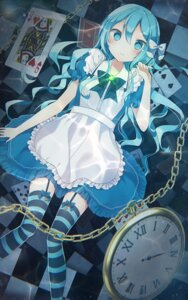 Rating: Safe Score: 42 Tags: alice alice_in_wonderland dress kanadetsuki_shion stockings thighhighs User: Mr_GT