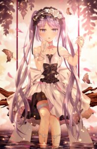 Rating: Safe Score: 74 Tags: dress euryale fate/grand_order garter junpaku_karen summer_dress wet User: animeprincess