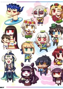 Rating: Questionable Score: 12 Tags: attila_(fate/grand_order) chibi ereshkigal_(fate/grand_order) fate/grand_order fujimaru_ritsuka jeanne_d'arc jeanne_d'arc_(alter)_(fate) karna_(fate) lancer maid murasaki_shikibu_(fate) okada_izo_(fate/grand_order) oryou-san riyo_(lyomsnpmp) saber sakamoto_ryouma_(fate/grand_order) scathach_(fate/grand_order) shi_huang_di_(fate) swimsuits sword waitress User: Nepcoheart