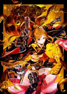 Rating: Safe Score: 18 Tags: gun kimono mecha soubin tentacles thighhighs User: 23yAyuMe