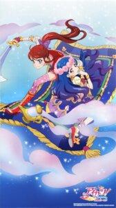 Rating: Safe Score: 14 Tags: aikatsu! dress heels ishikawa_kayoko kazesawa_sora shibuki_ran sword thighhighs User: Radioactive