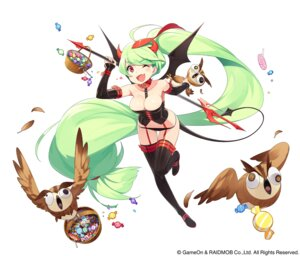 Rating: Safe Score: 32 Tags: cleavage horns kamo_kamen stockings tail thighhighs wings User: blooregardo