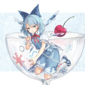 Rating: Safe Score: 16 Tags: cirno dress tagme touhou wings User: Mr_GT