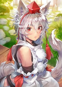 Rating: Safe Score: 13 Tags: animal_ears inubashiri_momiji matsuda_(matsukichi) tail touhou wet User: Qpax