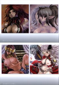 Rating: Explicit Score: 10 Tags: aldra armor breasts cleavage echidna elf hamoto nipples pointy_ears pussy queen's_blade risty User: eridani