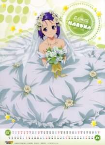 Rating: Safe Score: 30 Tags: calendar dress kutsuzawa_youko sairenji_haruna to_love_ru wedding_dress User: El_Cobra