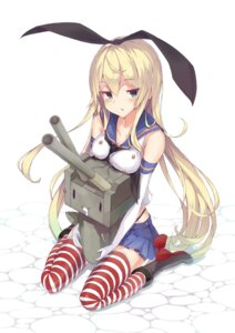 Rating: Safe Score: 43 Tags: kantai_collection rensouhou-chan shimakaze_(kancolle) thighhighs User: tbchyu001
