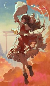 Rating: Safe Score: 28 Tags: hakurei_reimu mossi skirt_lift touhou User: Mr_GT