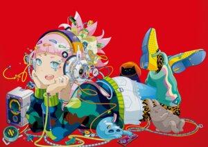 Rating: Safe Score: 18 Tags: headphones neko pantyhose takahashi_hiroyuki User: VinnieSalmonella