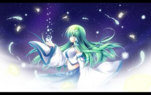 Rating: Safe Score: 15 Tags: kochiya_sanae shin_osada touhou wallpaper User: 椎名深夏