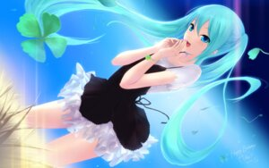 Rating: Safe Score: 82 Tags: cait dress hatsune_miku vocaloid wallpaper User: blooregardo