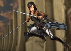 Rating: Safe Score: 9 Tags: shingeki_no_kyojin sword uniform ymir_(shingeki_no_kyojin) User: NotRadioactiveHonest
