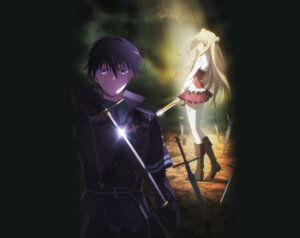 Rating: Safe Score: 24 Tags: assassins_pride heels melida_angel seifuku sword thighhighs yoshikawa_maho User: kiyoe