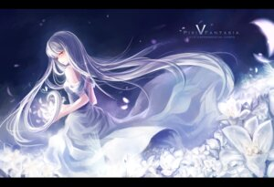 Rating: Safe Score: 30 Tags: dress pixiv_fantasia skade User: fairyren