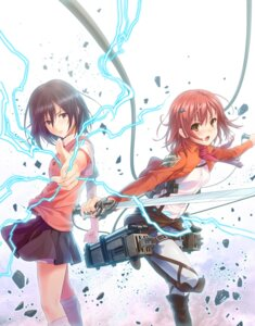 Rating: Safe Score: 57 Tags: cosplay crossover mikasa_ackerman misaka_mikoto misakamitoko0903 seifuku shingeki_no_kyojin sword to_aru_kagaku_no_railgun to_aru_majutsu_no_index User: 椎名深夏