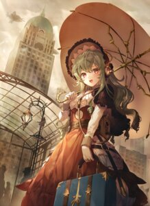 Rating: Safe Score: 29 Tags: dress headphones kikugetsu lolita_fashion umbrella User: BattlequeenYume