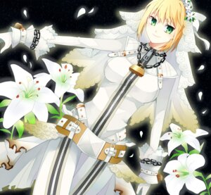 Rating: Safe Score: 22 Tags: fate/extra fate/extra_ccc fate/stay_night pol saber_bride saber_extra User: omegakung
