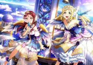 Rating: Safe Score: 23 Tags: angel love_live!_sunshine!! ohara_mari sakurauchi_riko see_through wings User: fly24