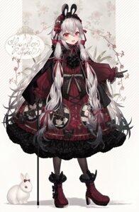 Rating: Safe Score: 20 Tags: abandon_ranka animal_ears bunny_ears dress gothic_lolita heels lolita_fashion tagme User: Dreista