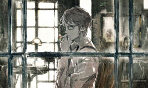 Rating: Safe Score: 13 Tags: male megane smoking toi8 vocaloid User: blooregardo