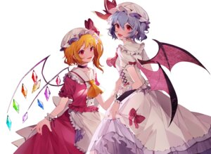 Rating: Safe Score: 11 Tags: flandre_scarlet remilia_scarlet touhou wings yayako_(804907150) User: Dreista