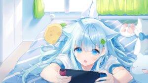 Rating: Safe Score: 75 Tags: a20_(atsumaru) animal_ears pantyhose seifuku User: Mr_GT