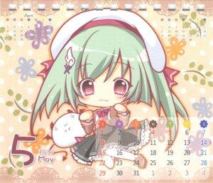 Rating: Safe Score: 23 Tags: calendar chibi hisuitei izumi_tsubasu paper_texture seifuku thighhighs User: peoplo