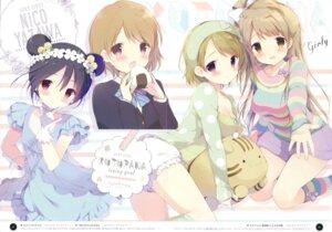 Rating: Safe Score: 48 Tags: bloomers crease dress fixme koizumi_hanayo love_live! minami_kotori seifuku shiratama shiratamaco yazawa_nico User: Twinsenzw