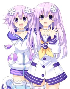 Rating: Safe Score: 23 Tags: choujigen_game_neptune garter nepgear neptune thighhighs zero_(ray_0805) User: Nepcoheart