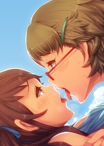 Rating: Questionable Score: 34 Tags: akazawa_izumi another megane sugiura_takako takayanagi_katsuya yuri User: Radioactive
