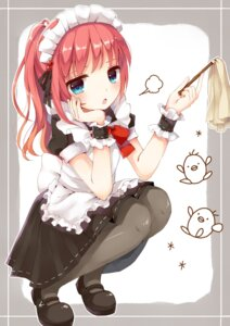 Rating: Safe Score: 70 Tags: maid pantyhose yon_(letter) User: Injection