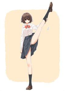 Rating: Questionable Score: 32 Tags: matsuda_hikari pantsu seifuku skirt_lift User: saemonnokami