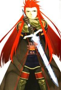 Rating: Safe Score: 2 Tags: asch male rei_(玲衣) screening sword tales_of tales_of_the_abyss thighhighs User: acas