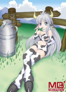 Rating: Safe Score: 5 Tags: animal_ears cleavage horns tagme thighhighs watermark User: Radioactive