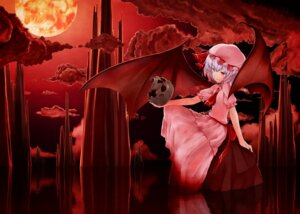 Rating: Safe Score: 21 Tags: ninnzinn remilia_scarlet touhou wings User: SlenderMan