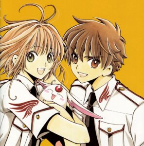 Rating: Safe Score: 8 Tags: clamp kinomoto_sakura li_syaoran mokona tsubasa_reservoir_chronicle User: Radioactive